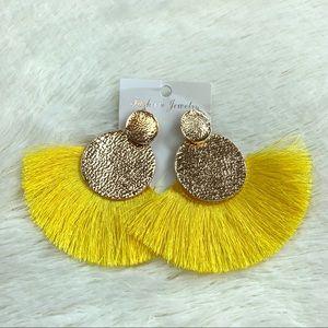 Jewelry - 3/$25 Boho fashion earrings tassel colorful dangle